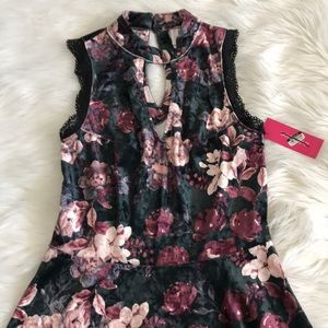 NWT Velvet mini dress